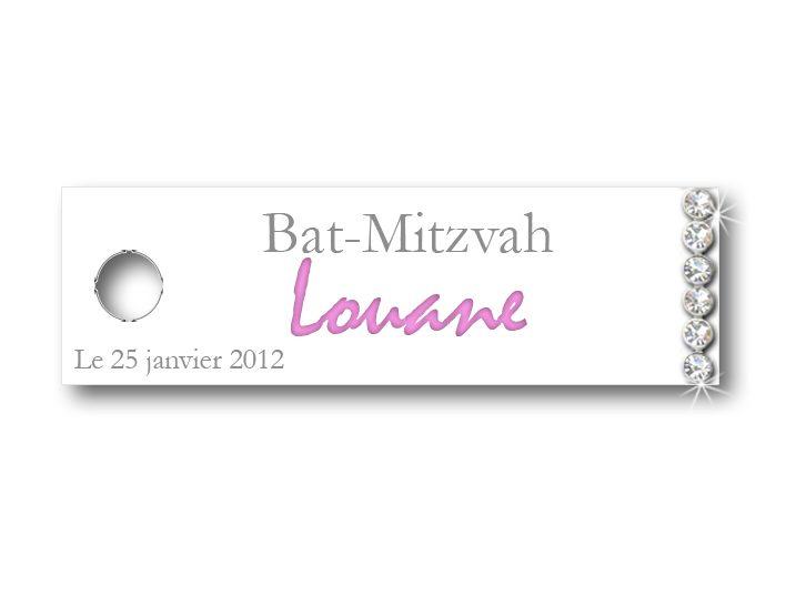 etiquette-a-dragees-bat-mitzvah-strass-louane