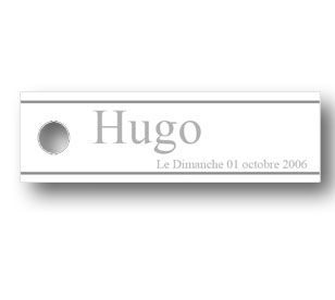 Etiquette-a-dragees-bapteme-simple-hugo