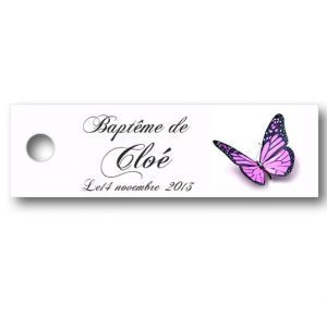 Etiquette-dragees-bapteme-personnalisable-avec-photo-fromat-rectangulaire-ref-Butterflies
