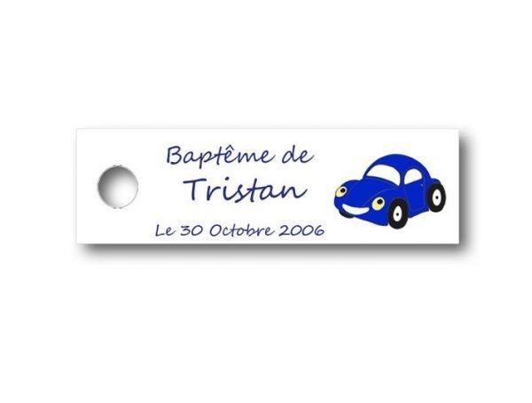 Etiquette-dragees-bapteme-personnalisable-avec-photo-fromat-rectangulaire-ref-cars
