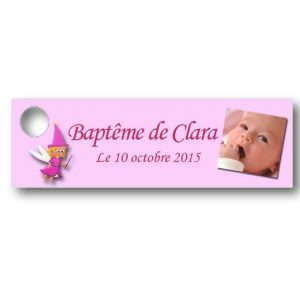 Etiquette-dragees-bapteme-personnalisable-avec-photo-fromat-rectangulaire-ref-cendrillon