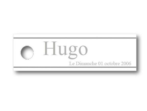Etiquette-dragees-bapteme-personnalisable-simple-hugo