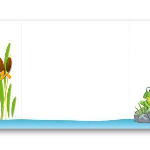 Habillage-boite-à-dragées-thème-grenouille