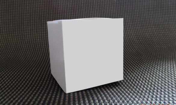 boite à dragées blanche